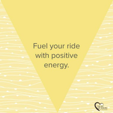Fuel your ride with positive energy