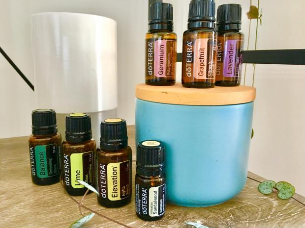 My home smells divine thanks to doTERRA