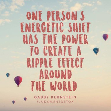 One Person's Energetic Shift